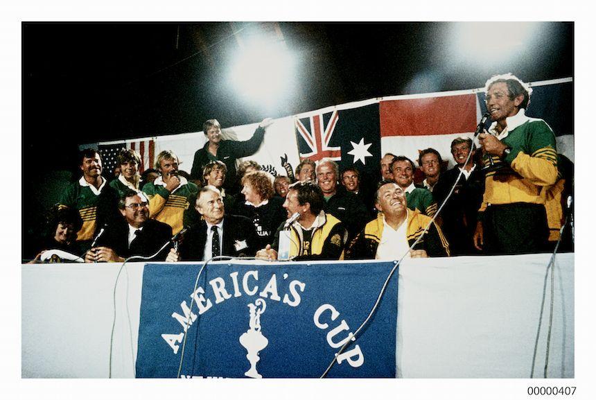 Australia II celebrations.