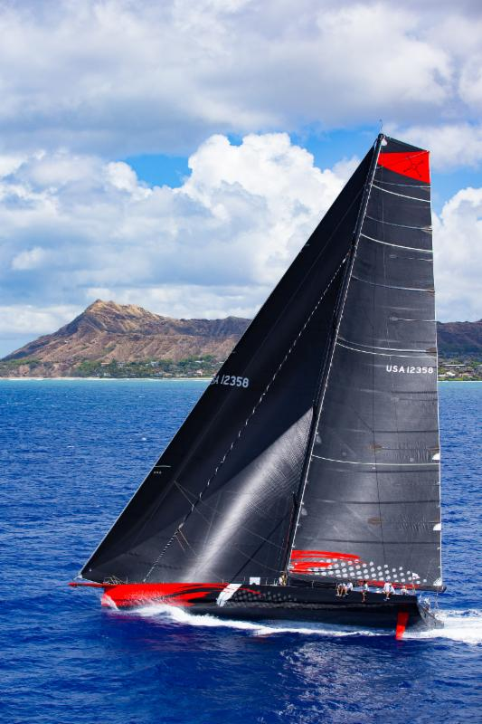 This year's fastest monohull - Jim Clark's 100 foot Comanche - would now be eligible for the Barn Door Trophy in 2019 - photo Sharon Green/Ultimate Sailing.