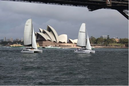 Multihull Central Seawind Rally.