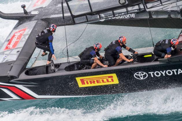 ETNZ during the Challenger Finals. Photo Ricardo Pinto/ACEA.