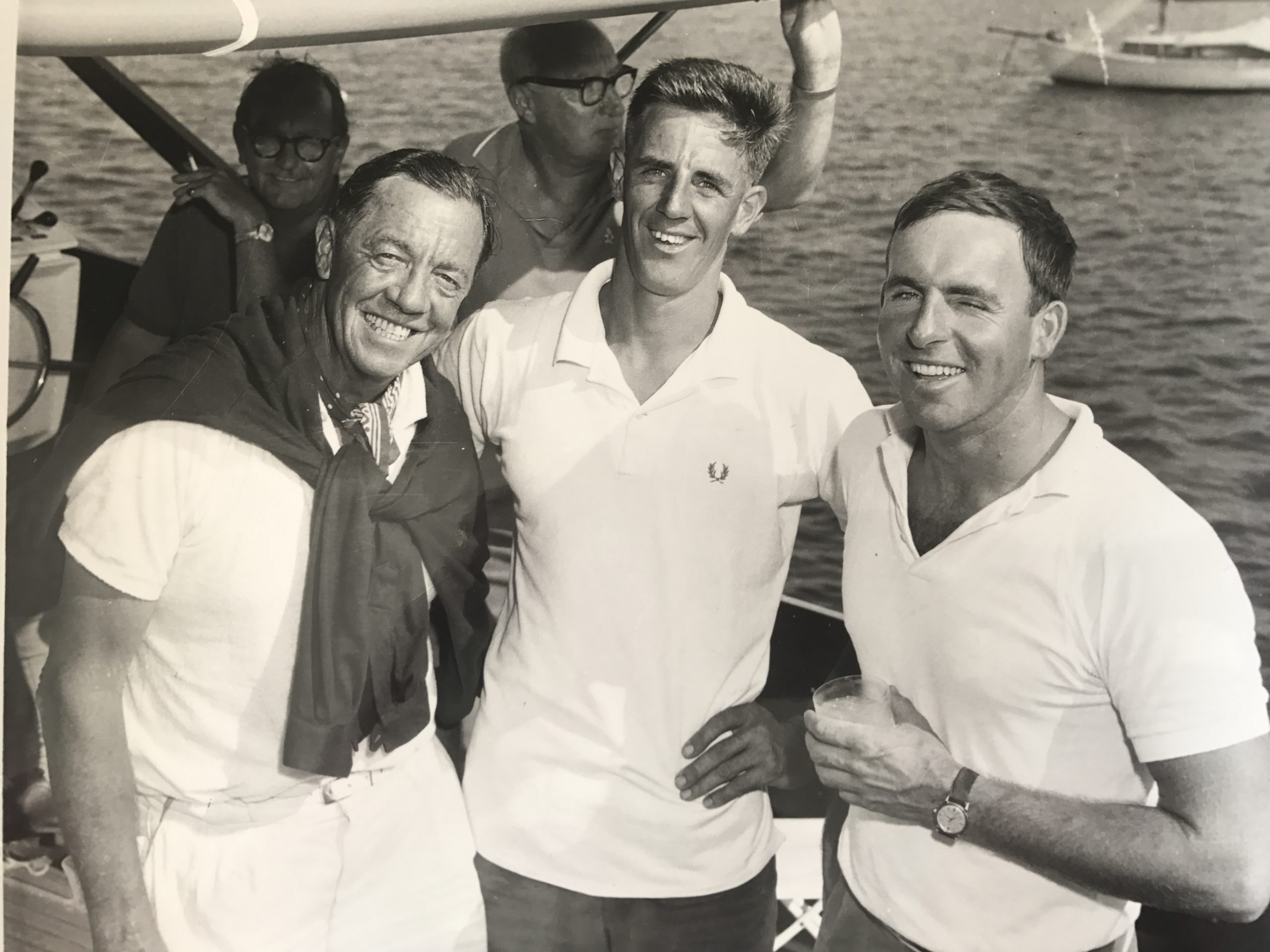 Australia's first Olympic sailing gold medallists