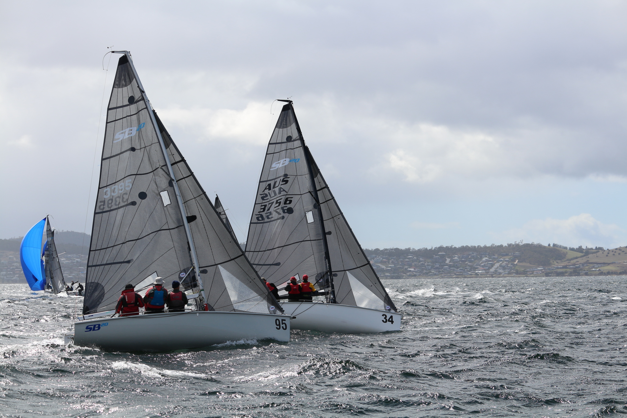 Big-conditions-for-the-fleet---Angus-Calvert-pic---Showdown-Regatta