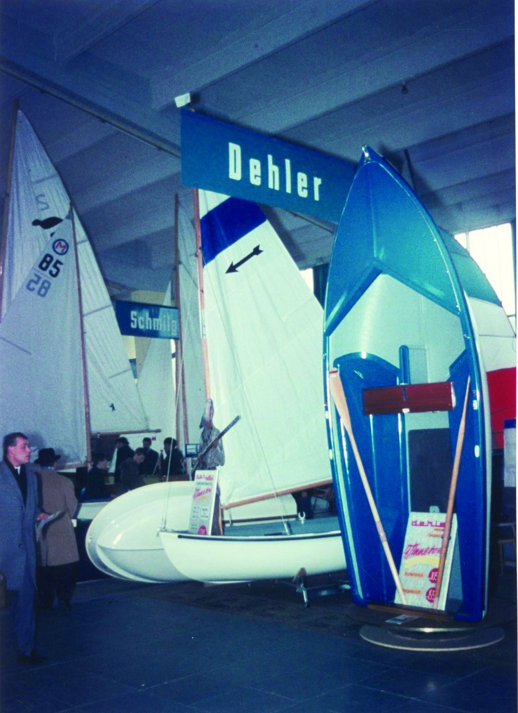 A Winnetou and an Arrow at a German Boat Show in 1966.