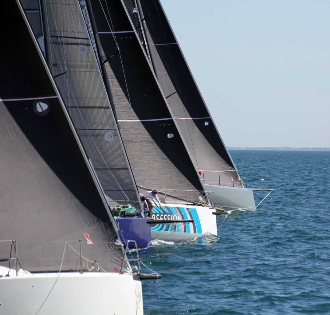 Start of the Roland Smith Ocean Race. Photo Susan Ware.