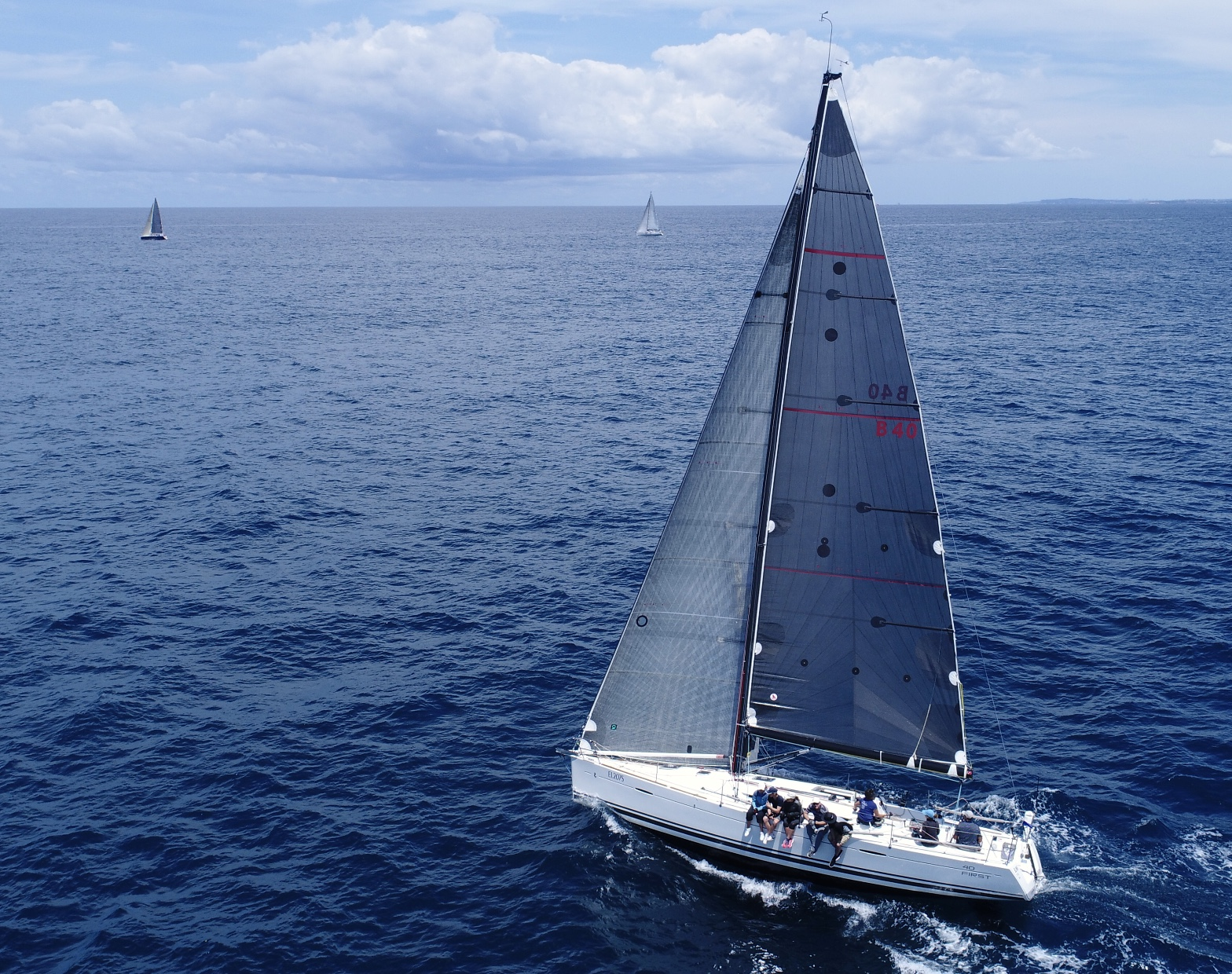 Beneteau Blink new for Club Marine Pittwater to Paradise_credit RPAYC.