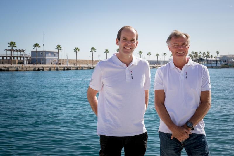 Richard Brisius and Johan Salén appointed as President and co-President of the Volvo Ocean Race. Ainhoa Sanchez/Volvo Ocean Race