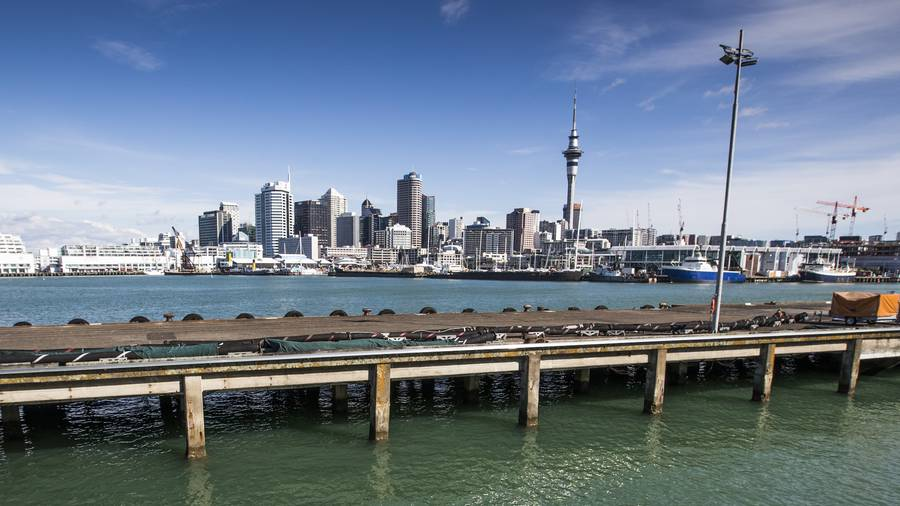 Team New Zealand's preferred plan would have all the syndicate bases on an Halsey Wharf