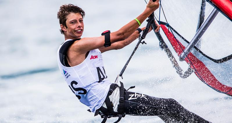 Alex Halank. Photo Australian Sailing.