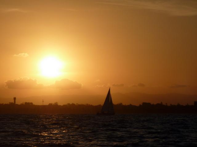 Kingfisher Race Series on Moreton Bay. Photo Mena Stoke.