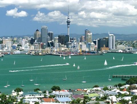 Auckland Harbour. Photo Auckland Council.