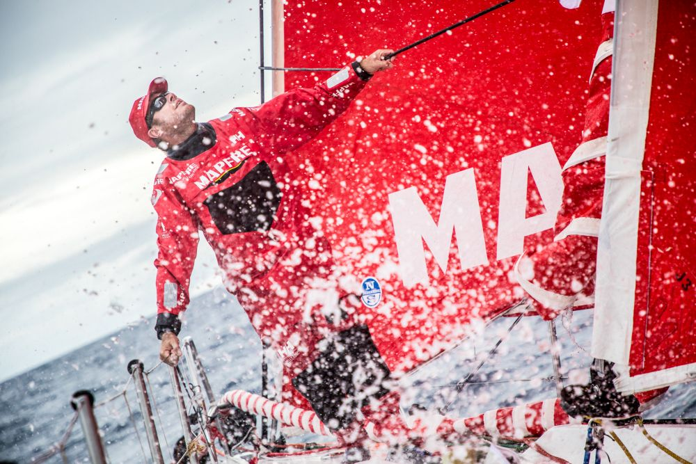 Ñeti Cuervas-Mons. Photo © Ugo Fonollá/MAPFRE/Volvo Ocean Race.