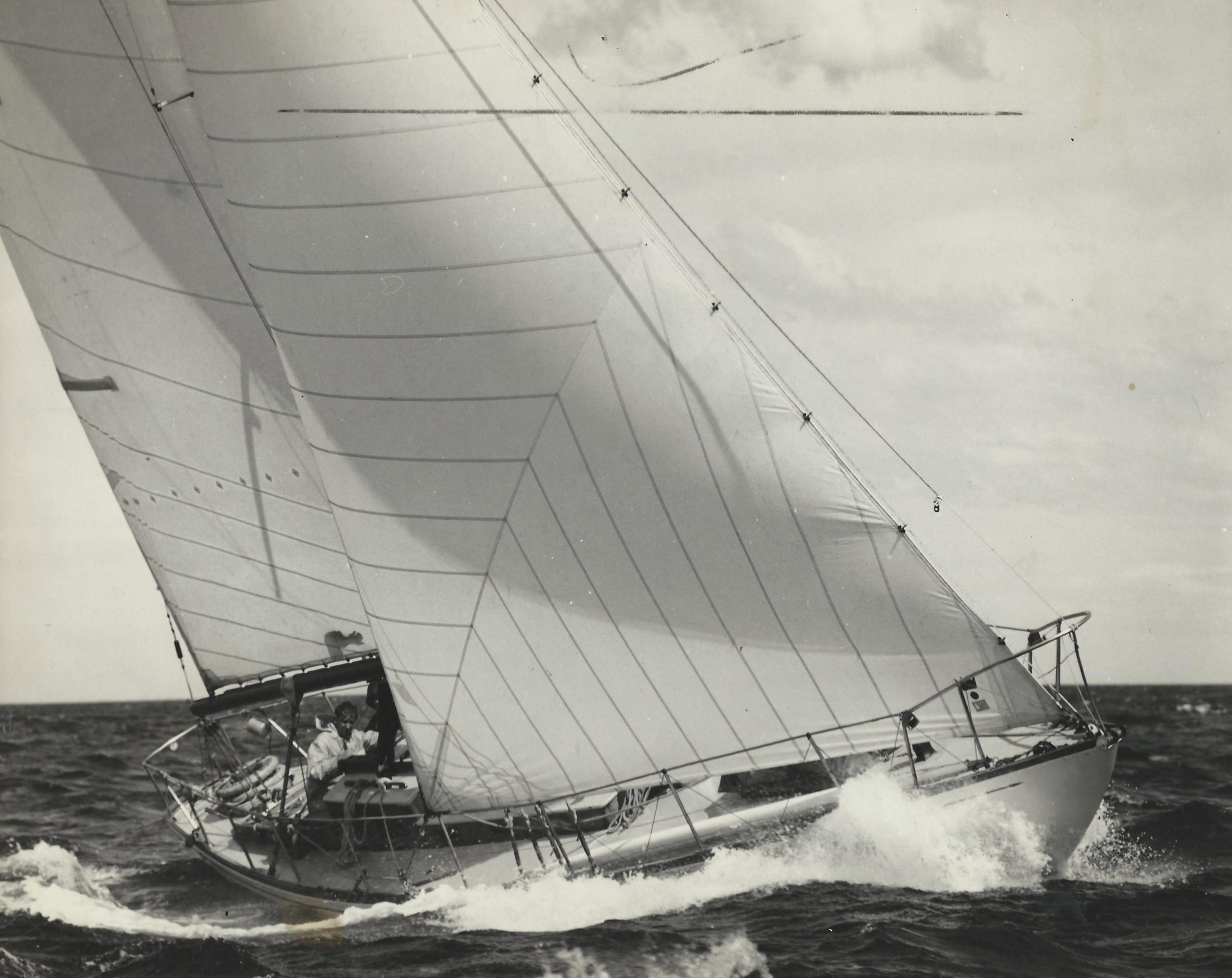 Caprice of Huon at the 67 Admirals Cup - photographer unknown.