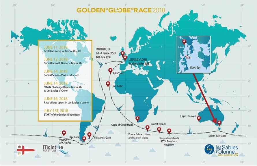 Golden-Globe-course-map
