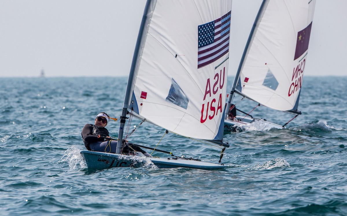 Laser Radial sailor