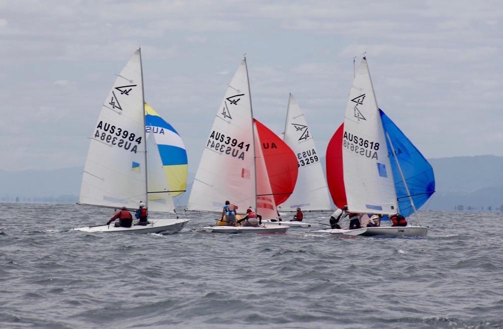 Flying Fifteen Australian Championships 2018. Photo Jonny Fullerton.