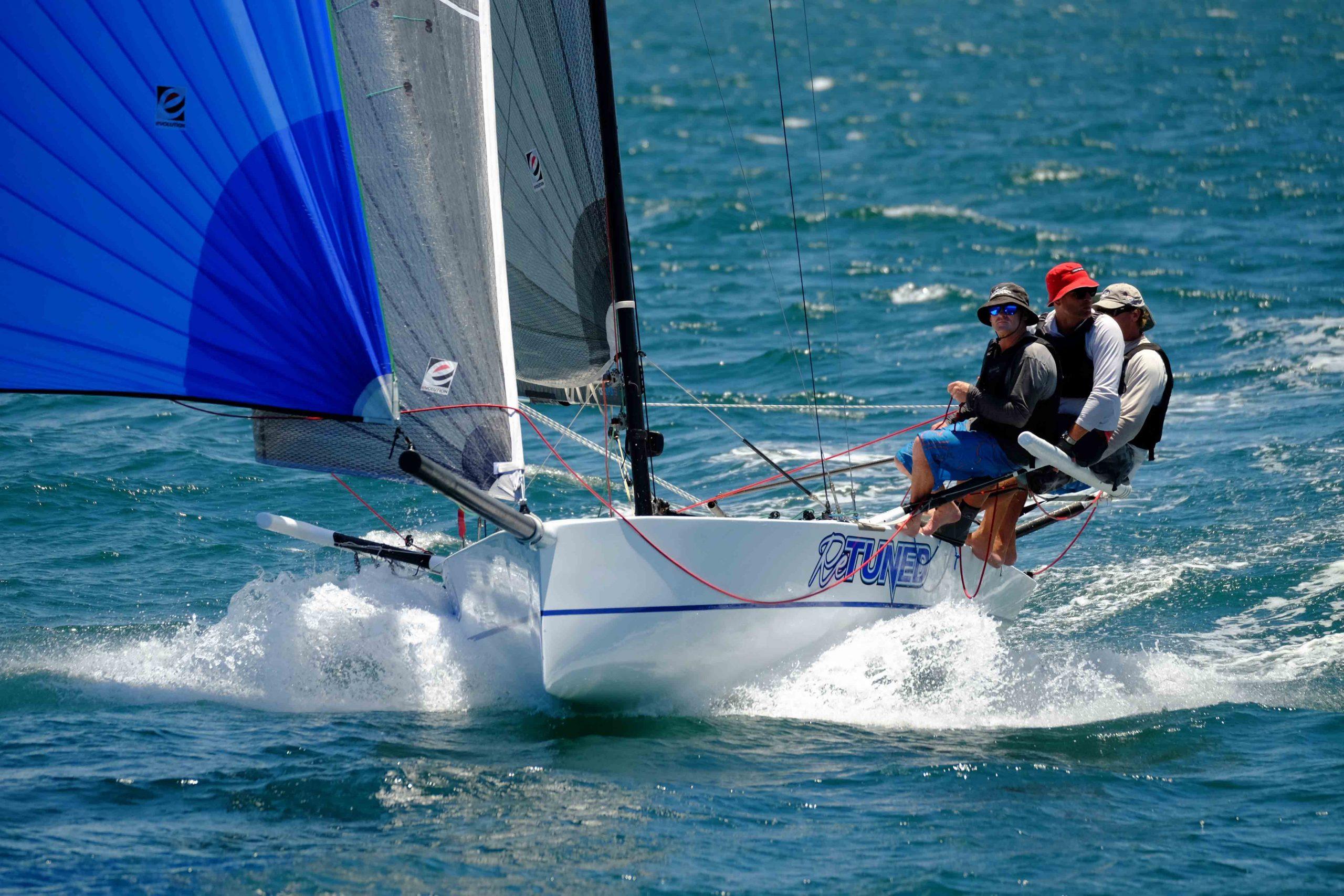 Sports boats championship at Sail Paradise. Photo SYC.