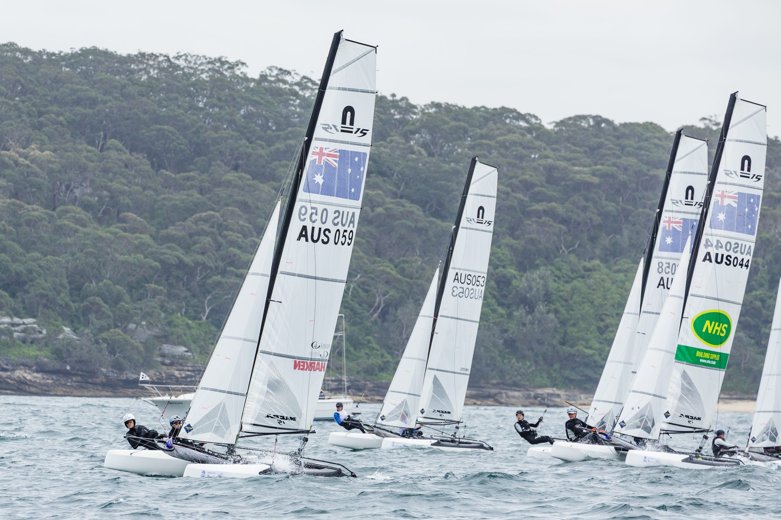 Morton and Swadling finished 2017 with a win at Sail Sydney CREDIT Robin Evans.