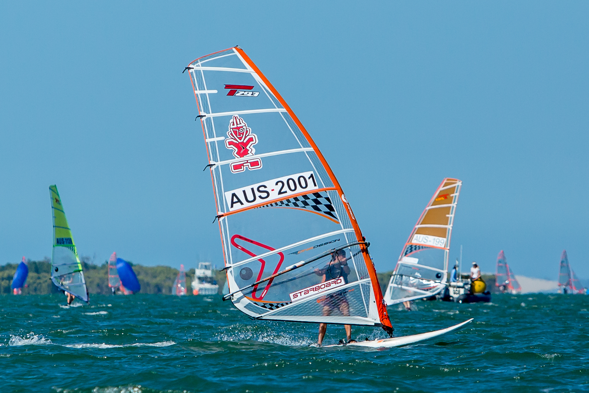 Alex-Halank-leading-the-Aussie-contingent-in-the-Bics---RQYS-pic