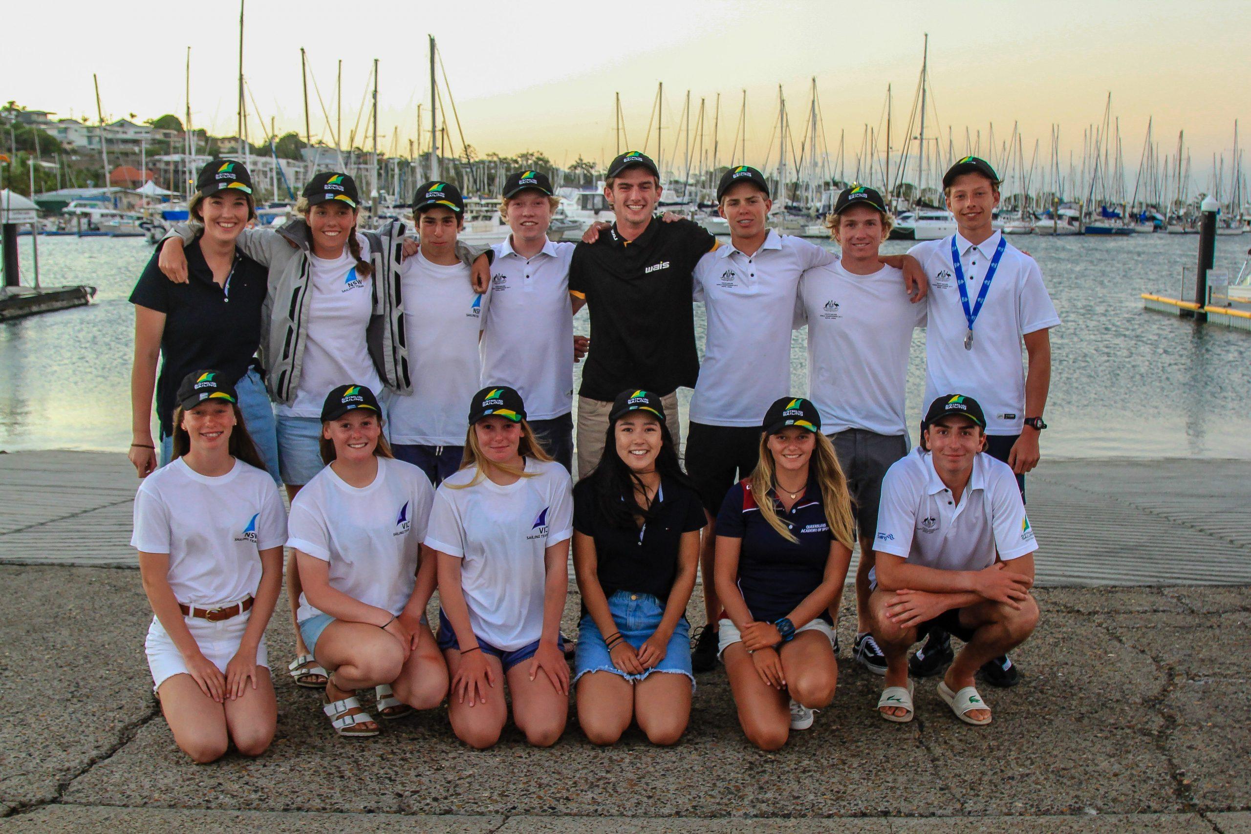 2018 Australian Youth Team. Photo Australian Sailing.