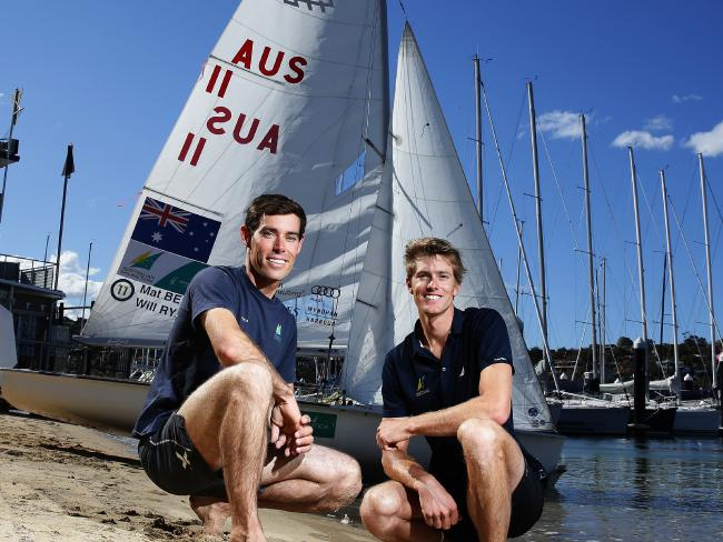 Mat-Belcher-and-Will-Ryan-sit-at-the-top-of-the-Mens-470-world-rankings