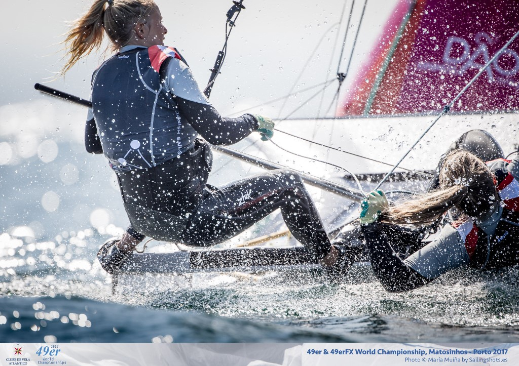 49erFX Worlds. Photo Maria Muina/Sailing Shots.