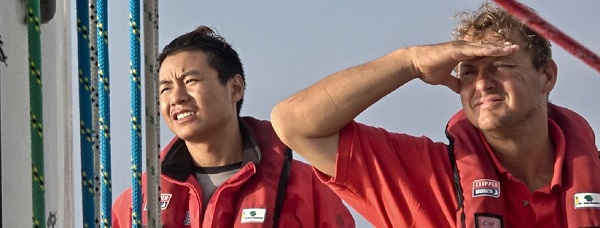 Looking for wind. Photo Clipper Ventures.