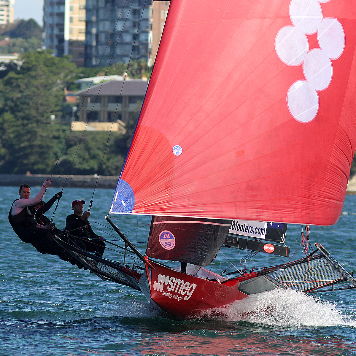SMEG on the way to a race win at the 2018 JJ Giltinan Championship. Photo Michael Crittenden.