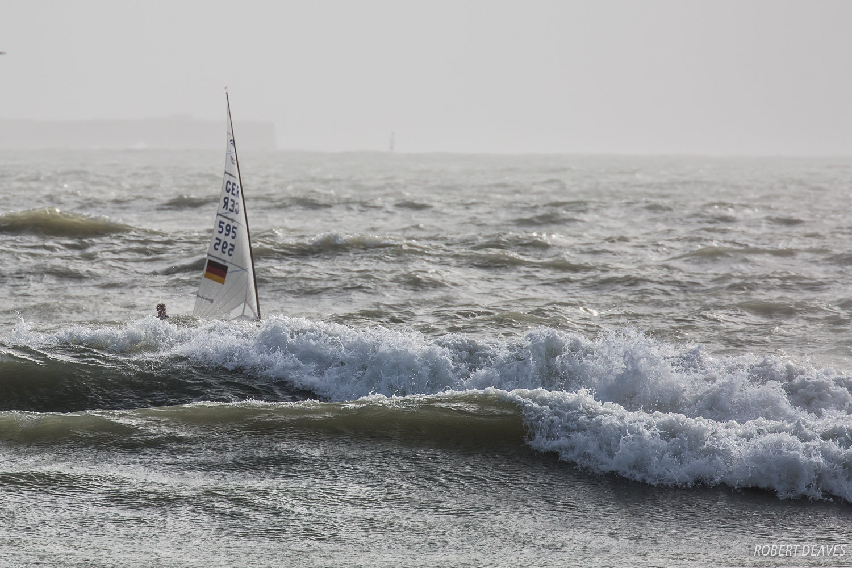 Some testing conditions already in Cádiz. Photo Robert Deaves.