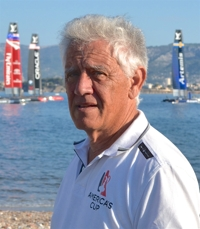Ken McAlpine to be inducted into the America's Cup Hall of Fame.