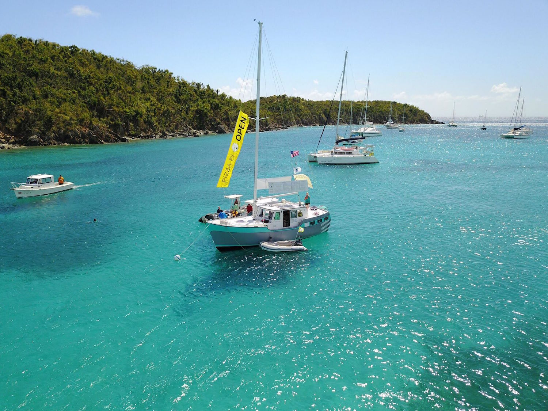 Virgin Islands. Sue Pelling Pic.