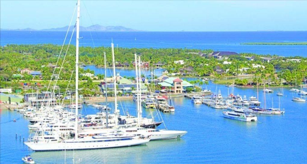 Yachts have been increasing their visits at Port Denarau in Nadi.Photo Fiji Sun Online.