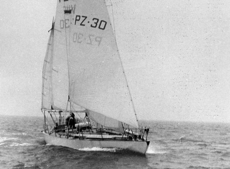 Copernicus in the first Whitbread Race. Photo PPL Agency.