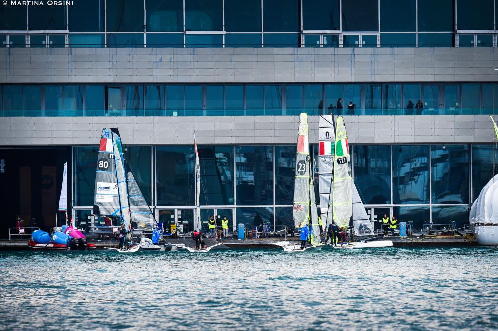 Yacht Club Italiano Genoa. Photo Martina Orsini.