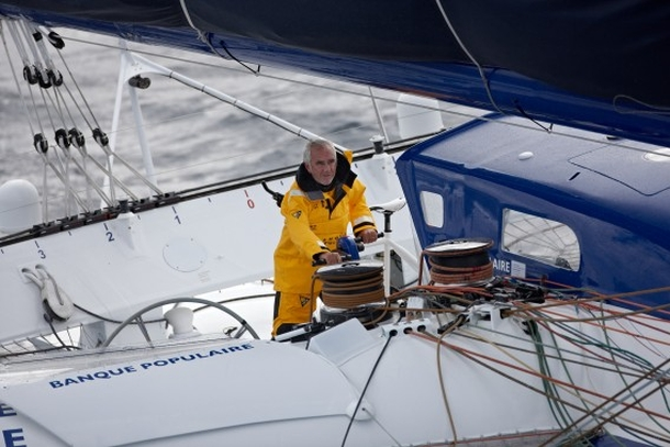 On board Banque Populaire VII in the Route du Rhum - Destination Guadeloupe. Photo Race Media.