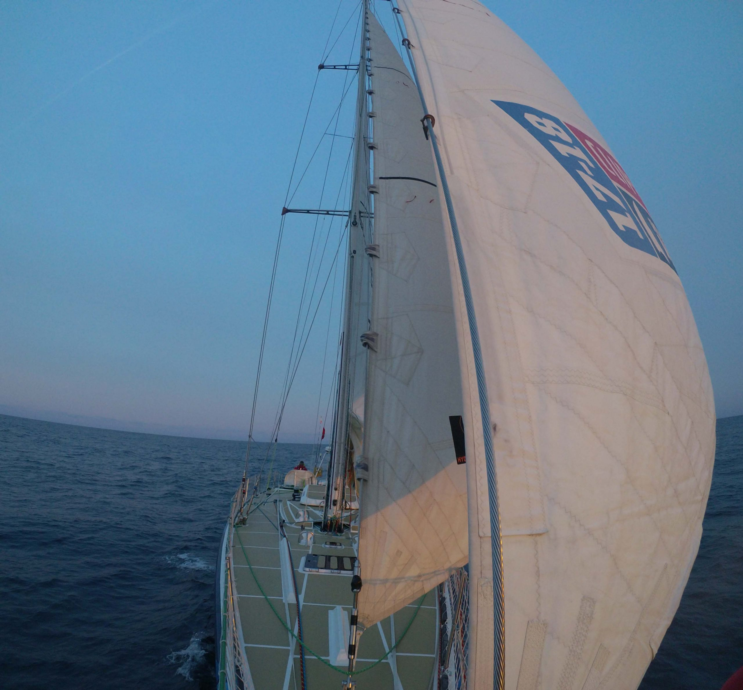 Dare to Lead in final stages of Leg 9 to Seattle