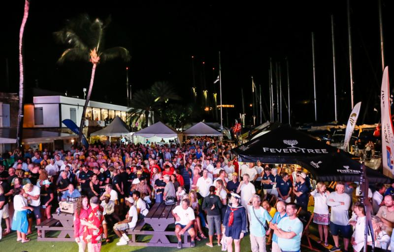 The historic Nelson's Dockyard provided a spectacular backdrop to the Final Awards Ceremony at the 51st edition of Antigua Sailing Week © Paul Wyeth