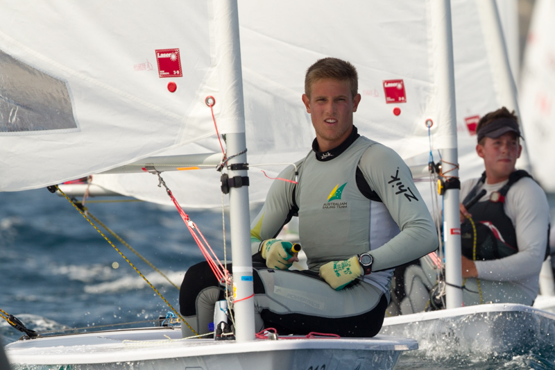 Australian Matt Wearn continues to lead the Men's - Thom Touw pic