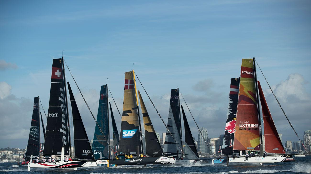 Extreme Sailing fleet - Extreme Sailing pic