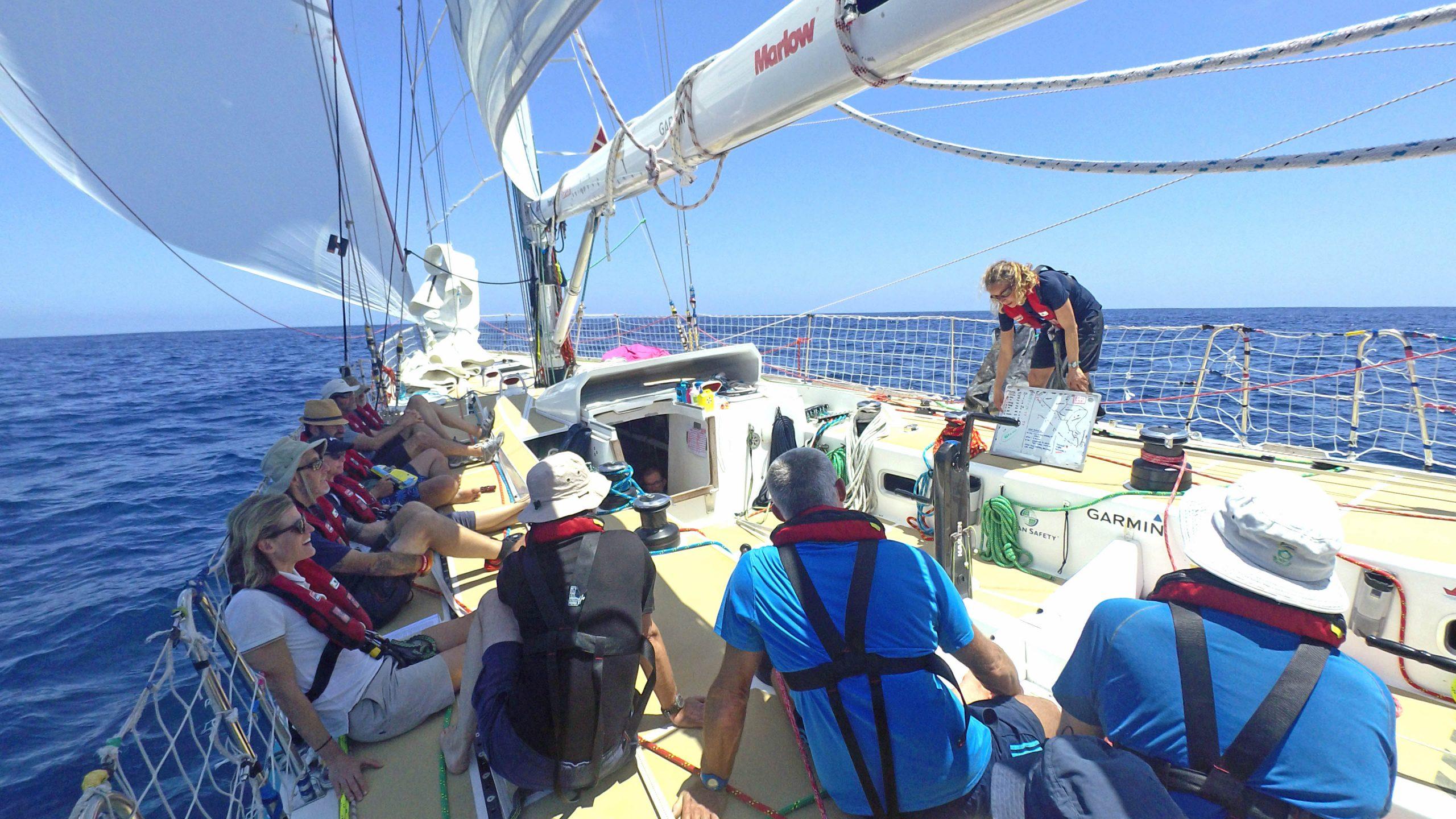 Nasdaq-crew-briefing-on-deck