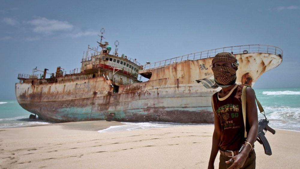 Somali pirate. AP Photo/Farah Abdi Warsameh.
