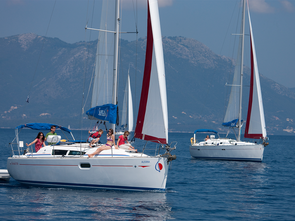 Sunsail Flotilla holidays.