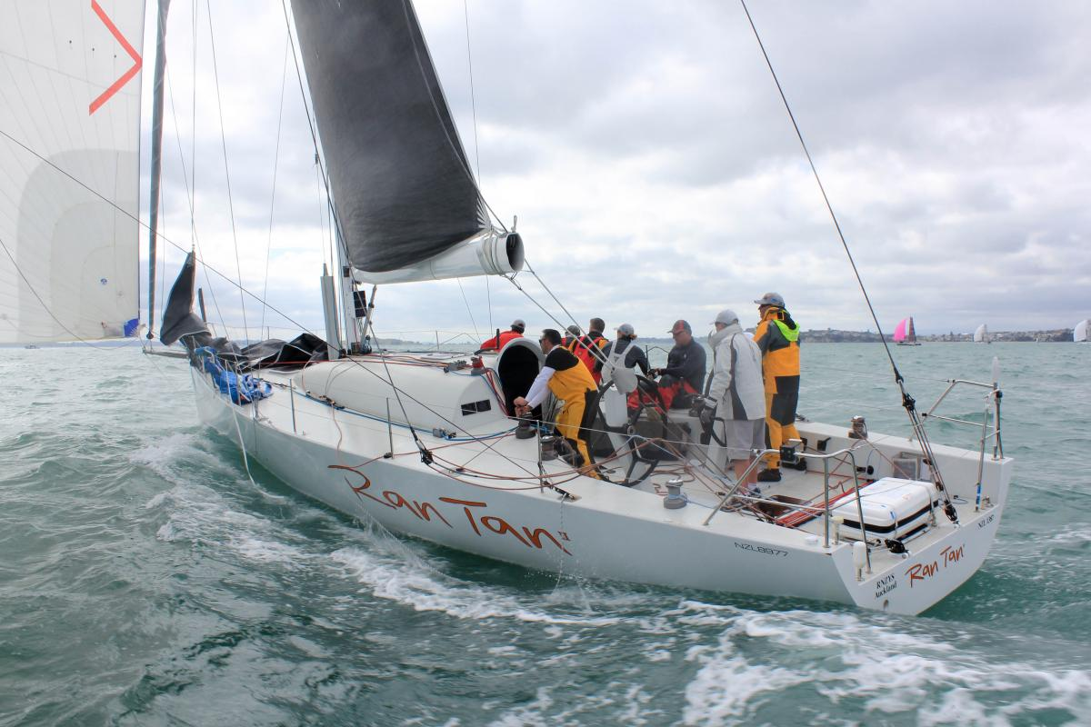 Ran Tan II will be among the favourites in the Auckland Noumea Yacht Race. Photo Yachting NZ.