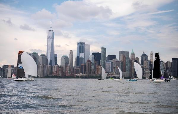 Atlantic Cup start of leg 2 in New York. Photo Billy Black.
