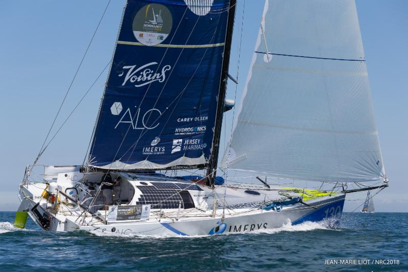 One of 10 Class40s in the Sevenstar Round Britain and Ireland Race - class favourite