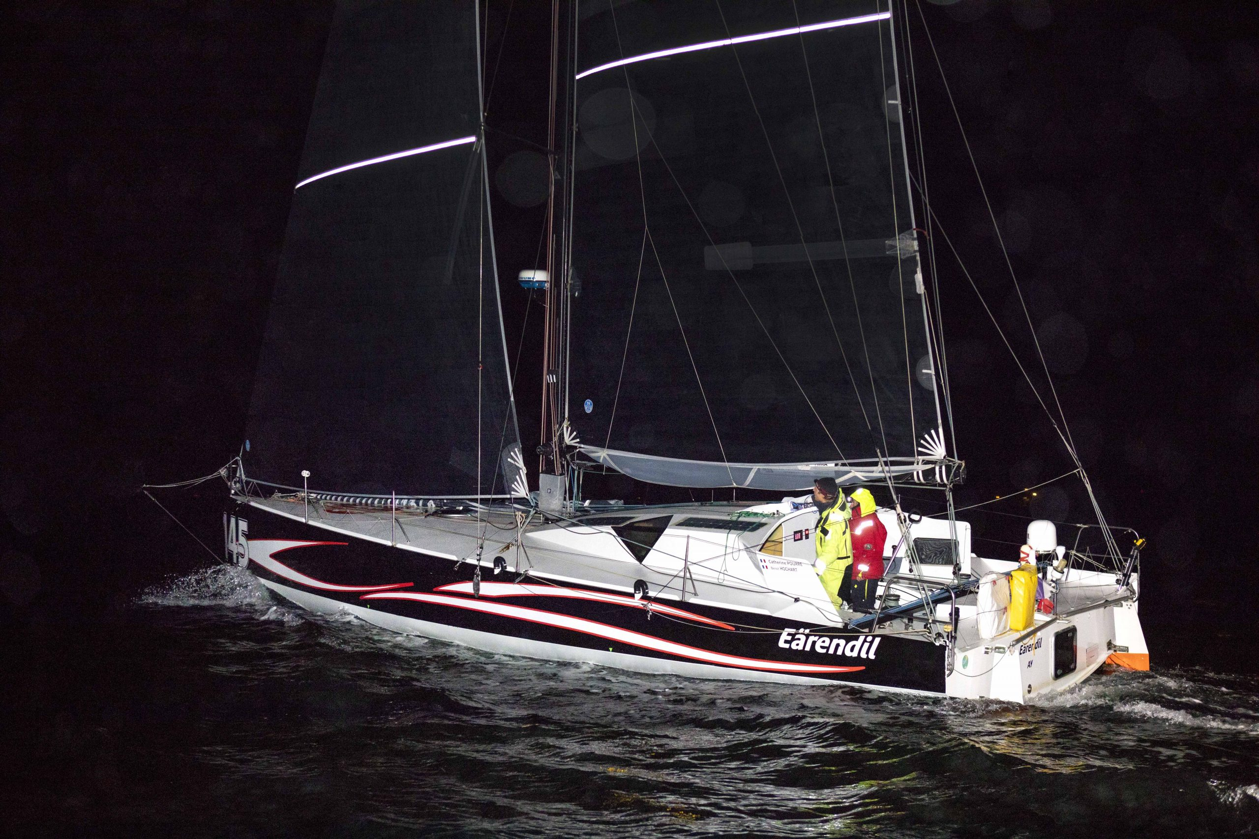 Eärendil finishes leg 2 of the Stlantic Cup in Portland