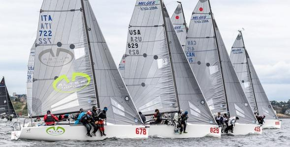 Melges-24s-clear-the-start