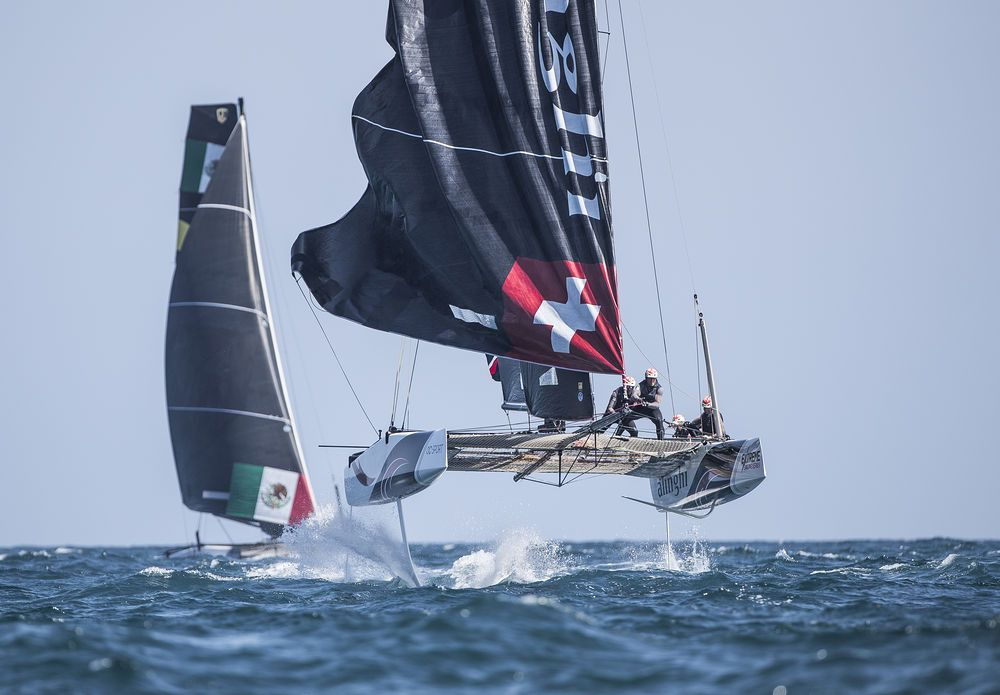 It was all eyes on comeback kids Alinghi in the final races