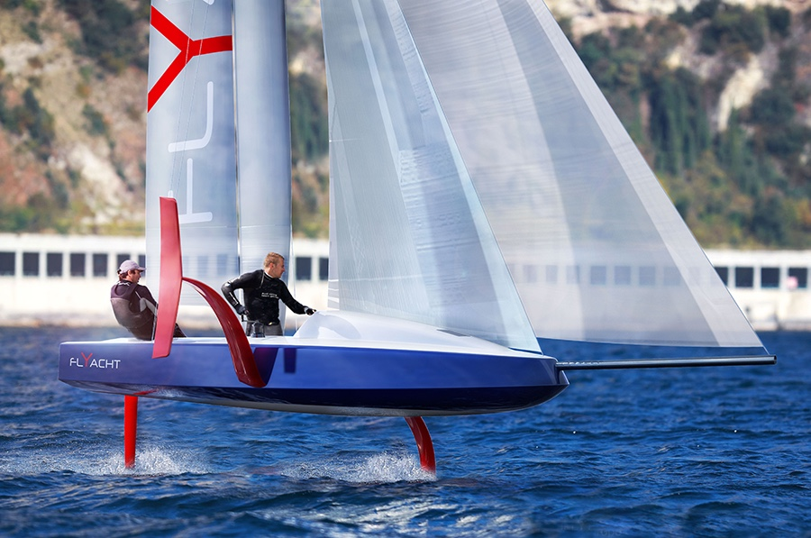 The new Philippe Briand Flyacht.