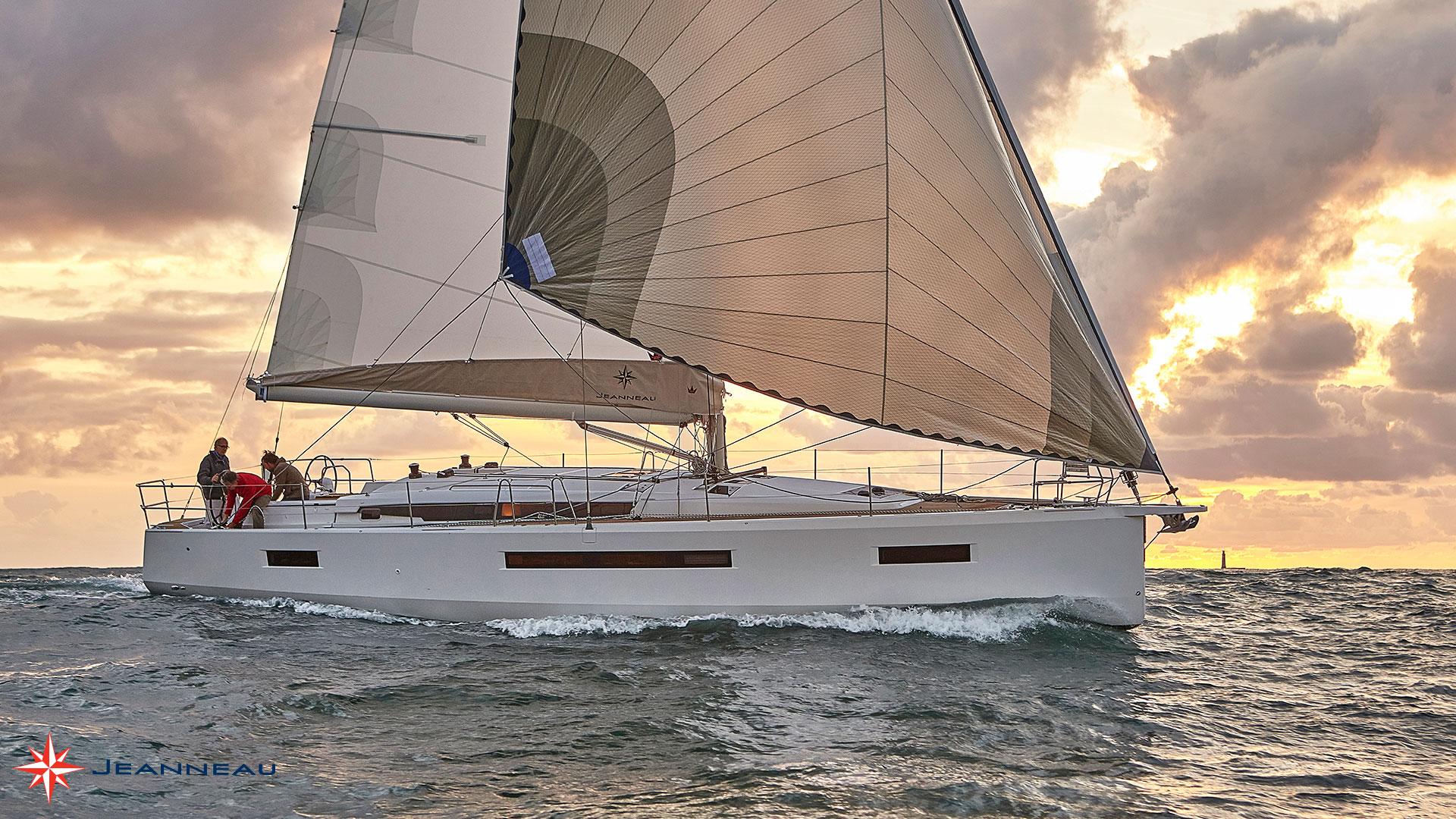 Jeanneau Sun Odyssey 490.