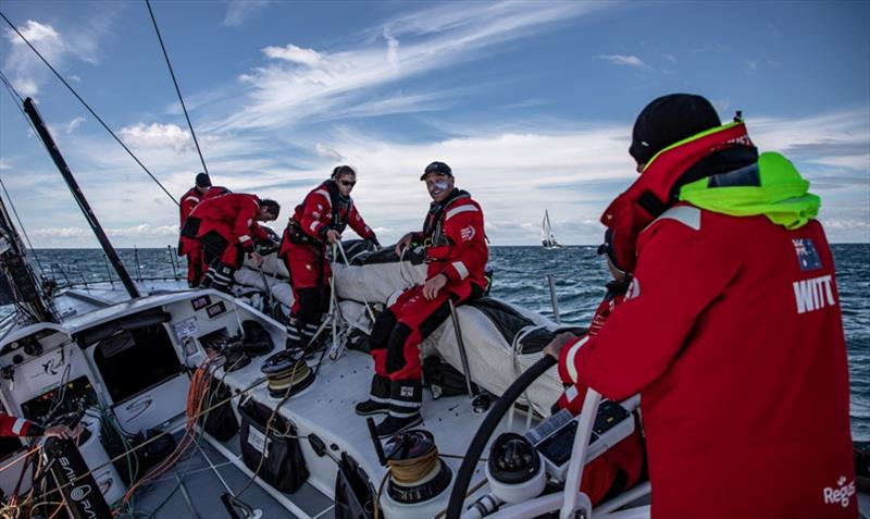 Dave Witt at helm of Scallywag making every move count - Konrad Frost/VOR
